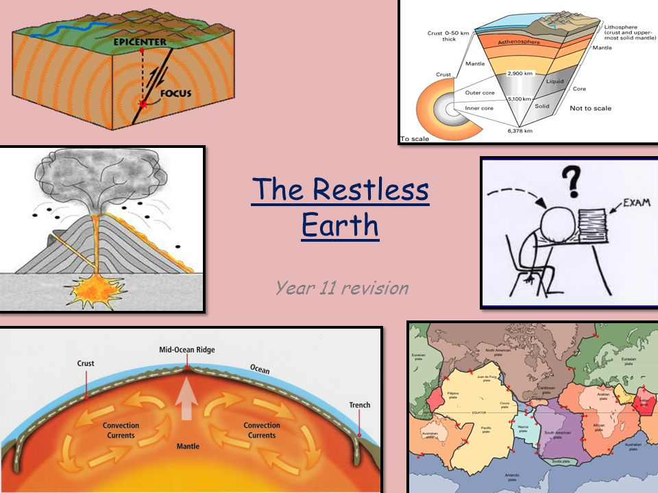 The Restless Earth Year 11 revision