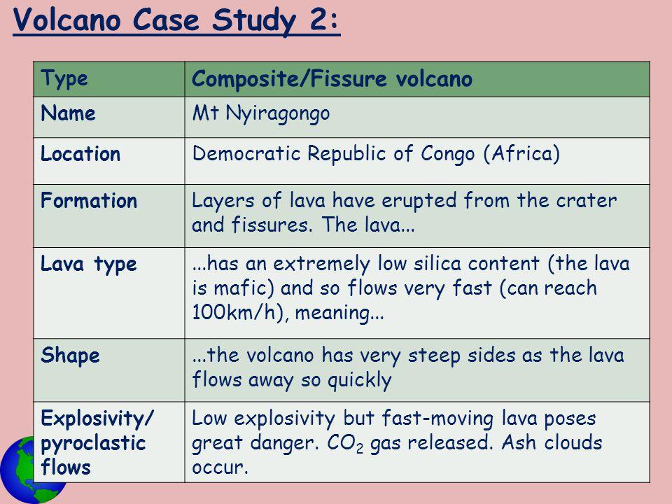 Volcano Case Study 2: Composite/Fissure volcano Type Name