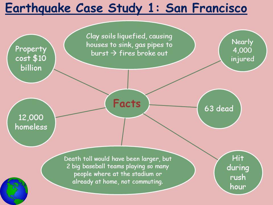Earthquake Case Study 1: San Francisco