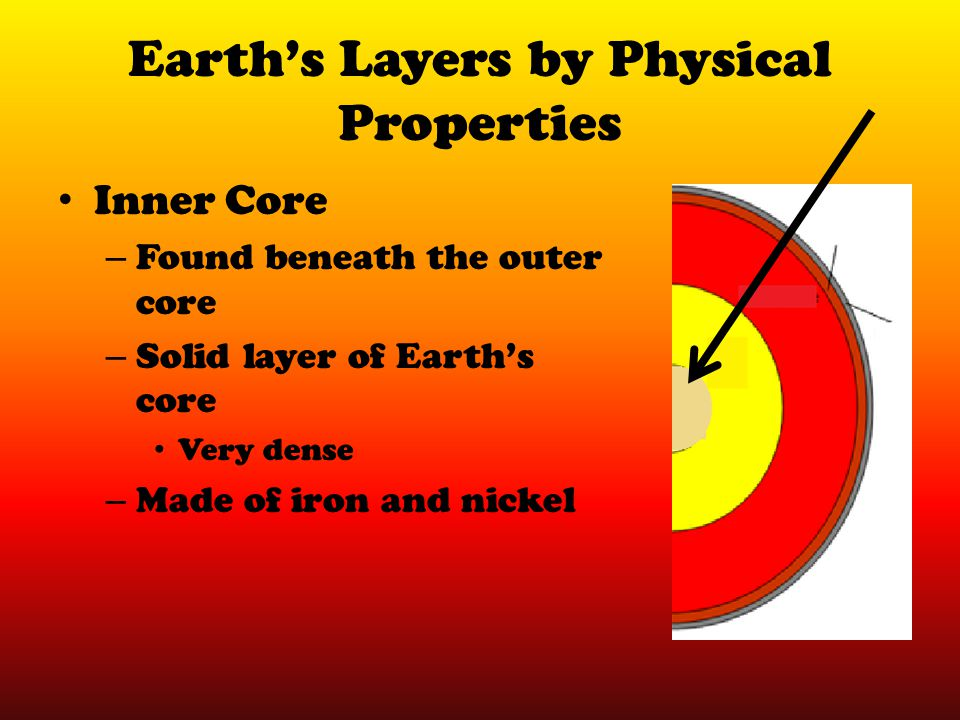 Earth's Layers by Physical Properties