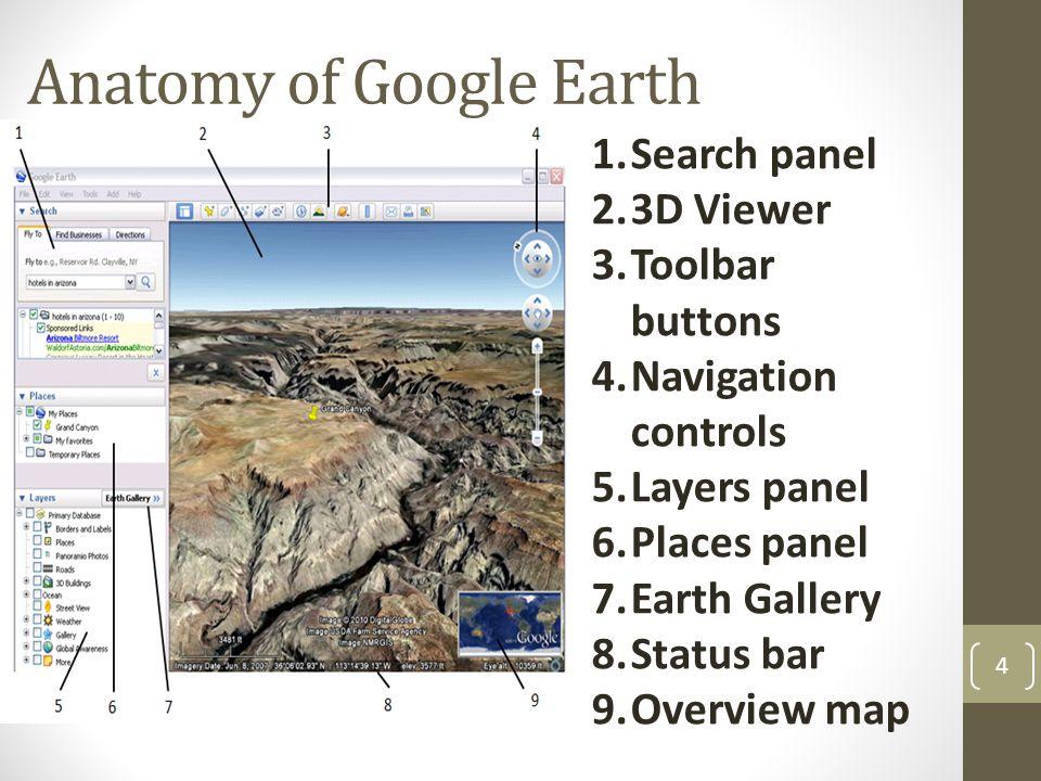 Anatomy of Google Earth