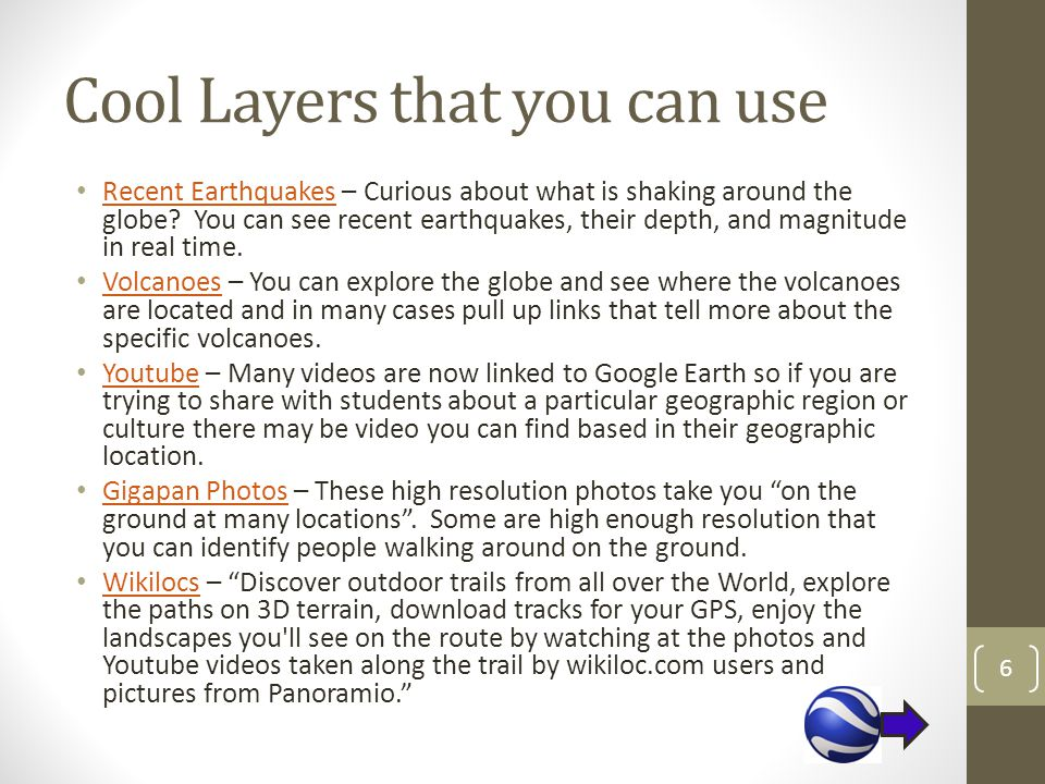 Cool Layers that you can use