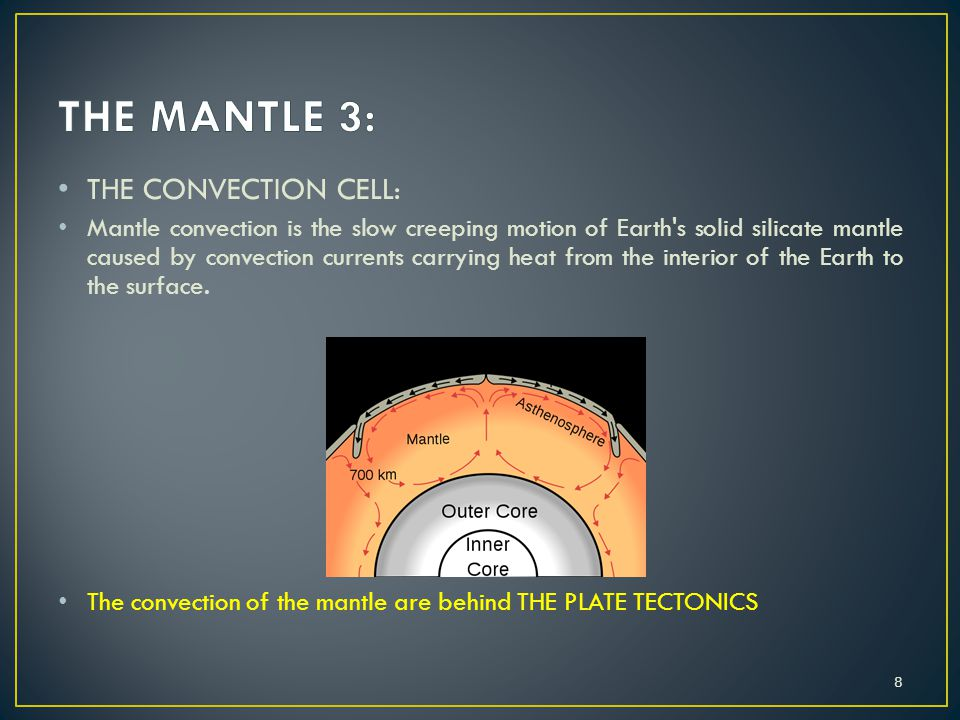 THE MANTLE 3: THE CONVECTION CELL: