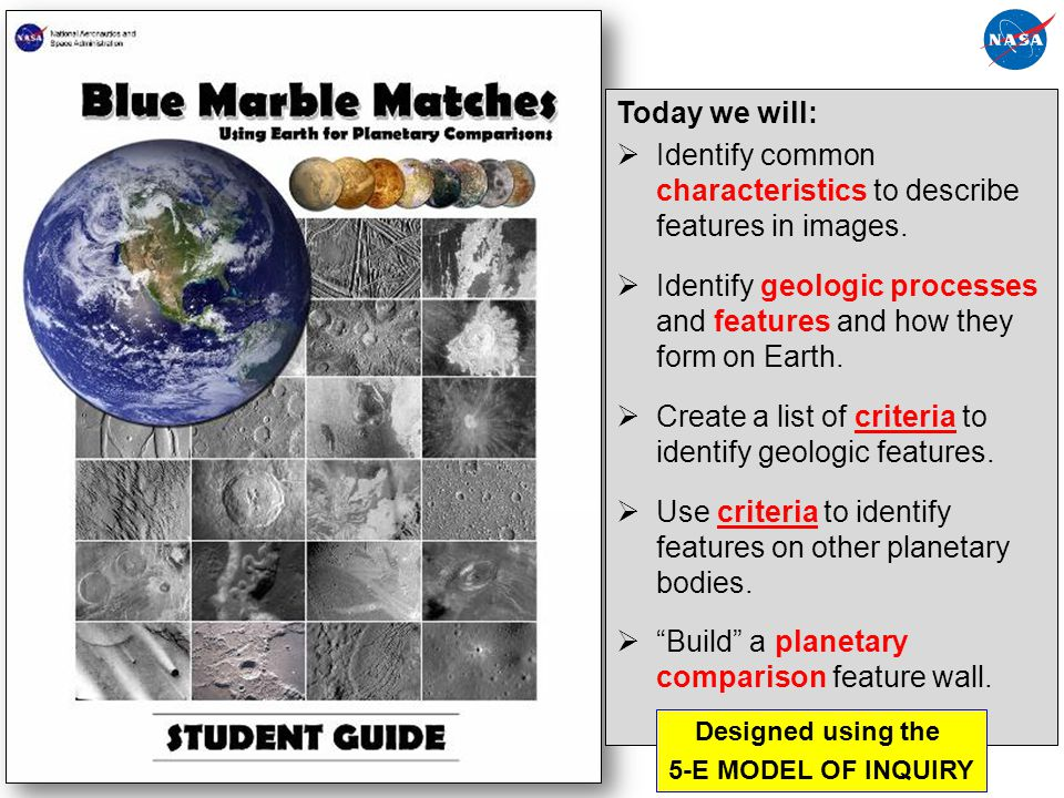 Identify common characteristics to describe features in images.