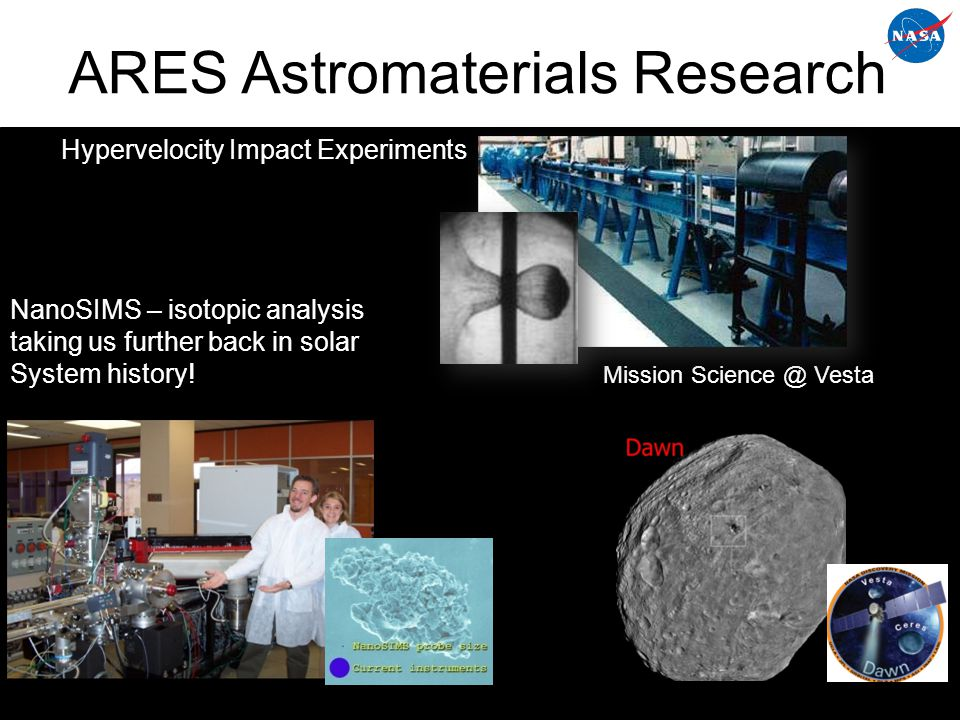 ARES Astromaterials Research