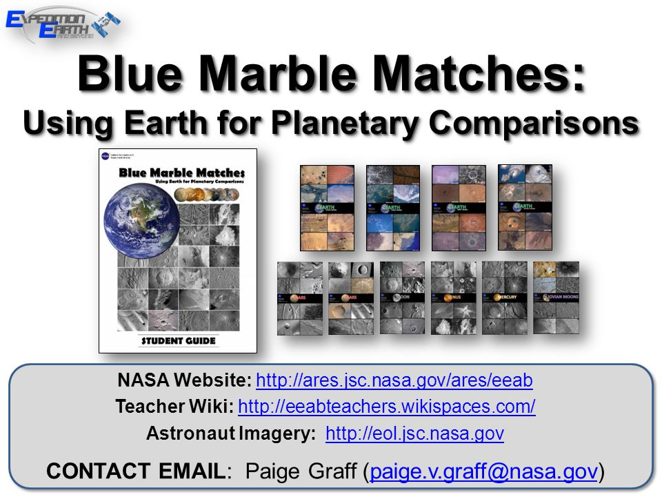 Using Earth for Planetary Comparisons