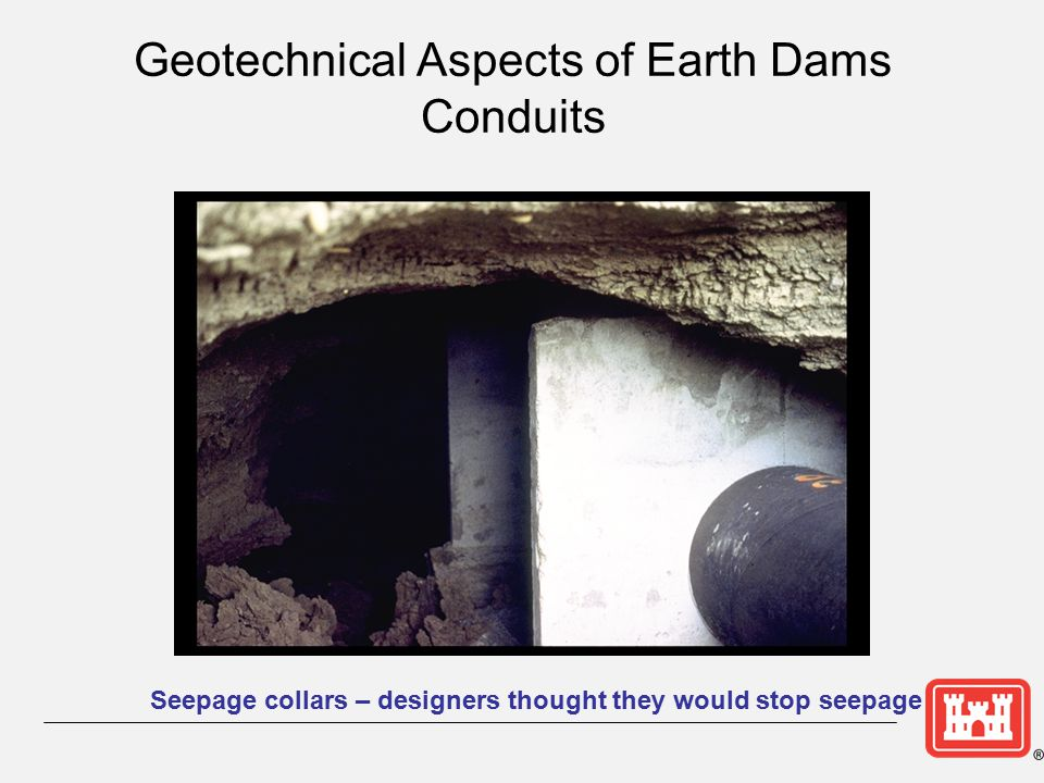 Geotechnical Aspects of Earth Dams Conduits