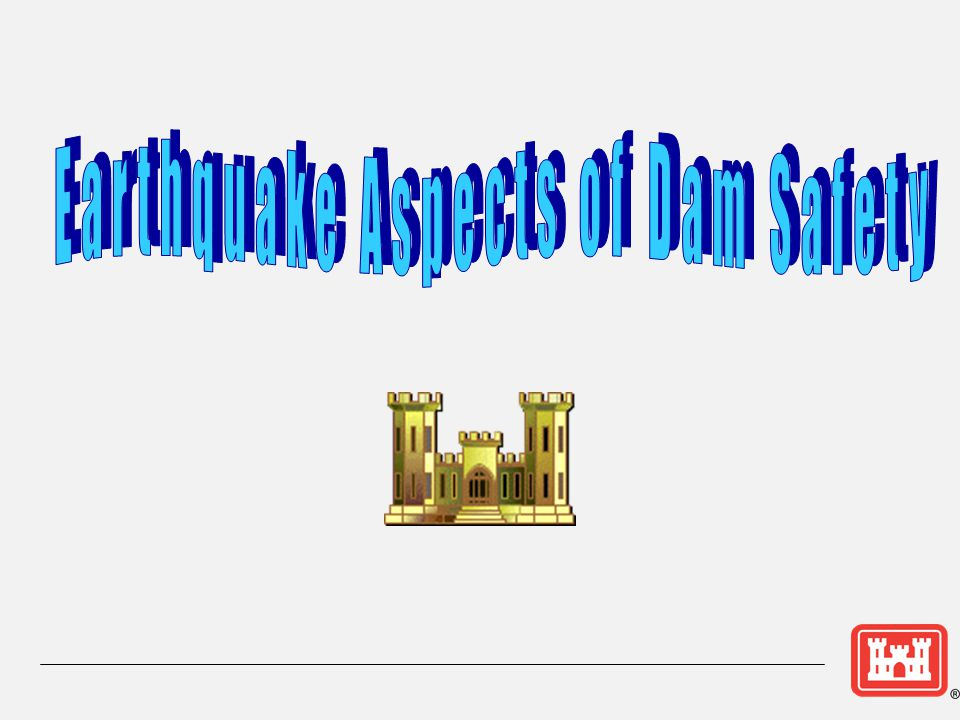 Earthquake Aspects of Dam Safety