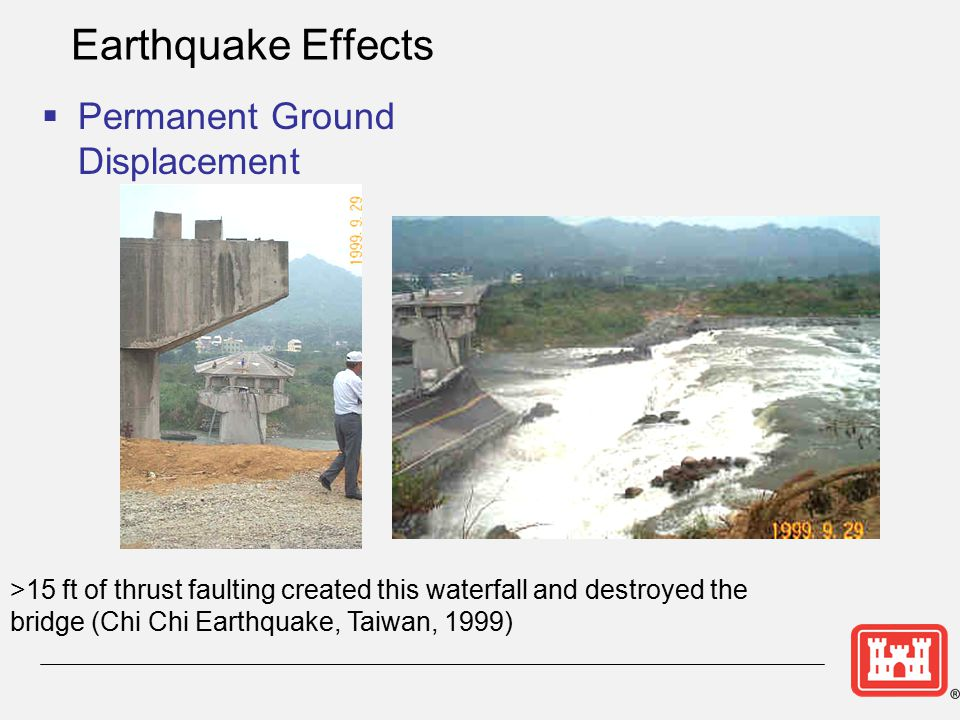 Earthquake Effects Permanent Ground Displacement