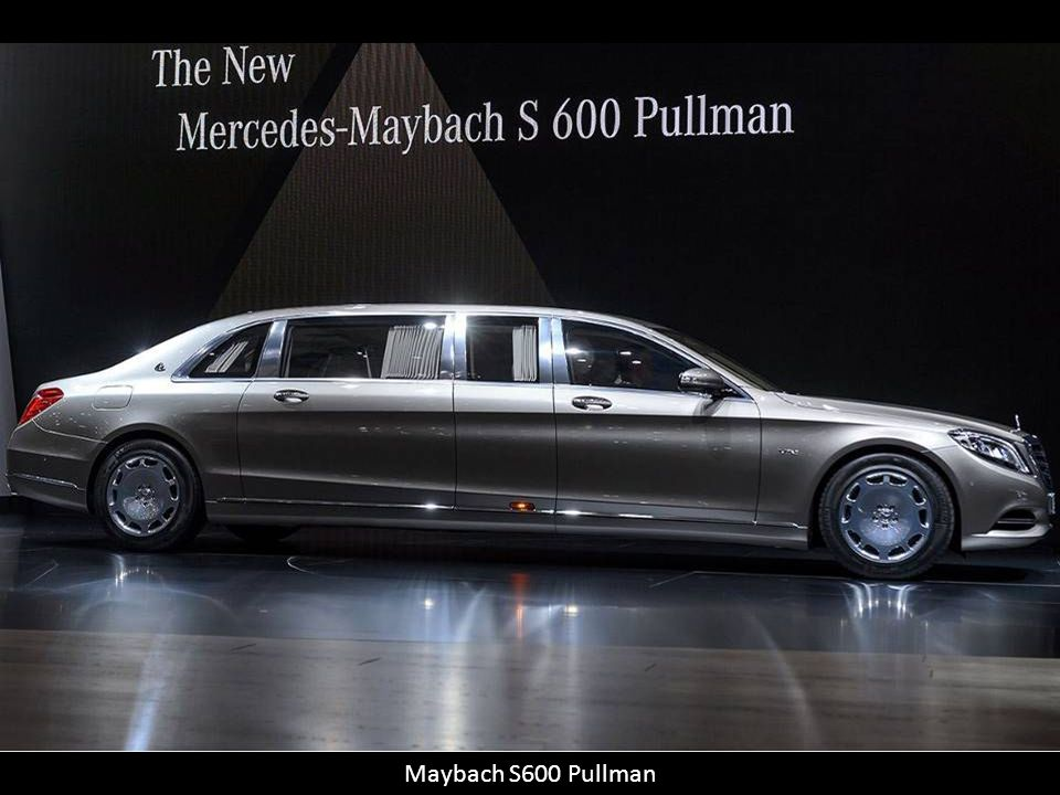 Maybach S600 Pullman