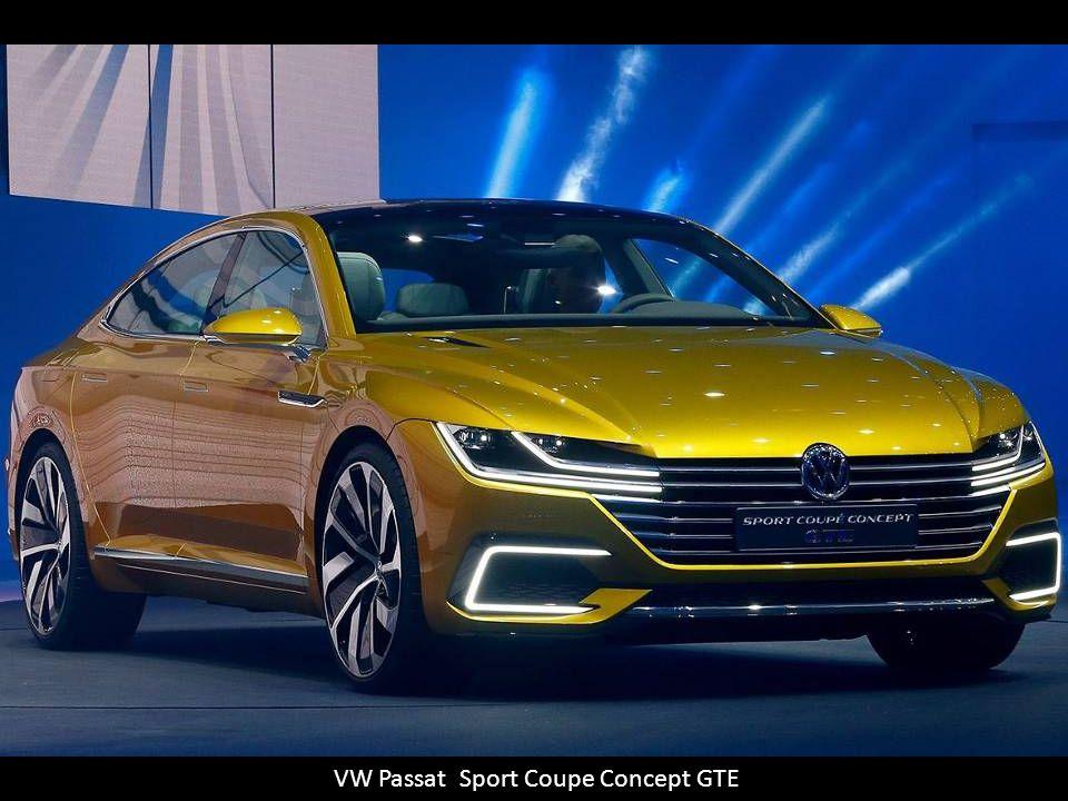 VW Passat Sport Coupe Concept GTE