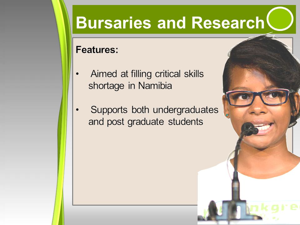 Bursaries and Research