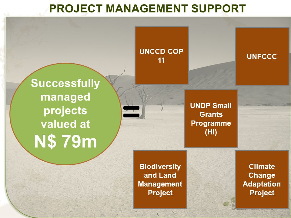 = N$ 79m Project Management Support