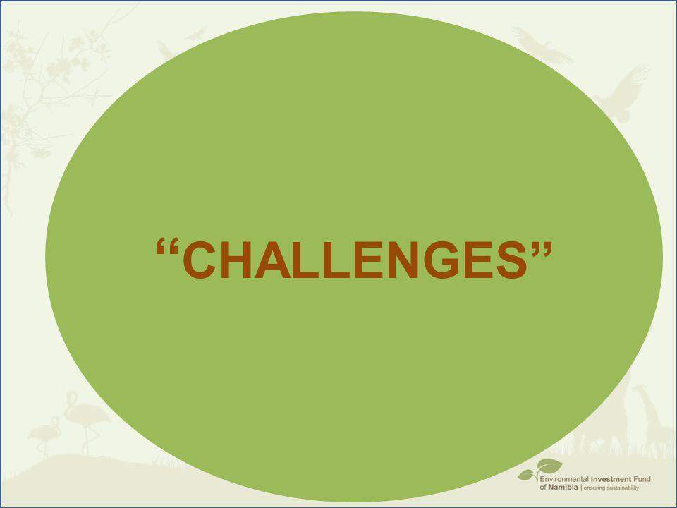 ''Challenges''