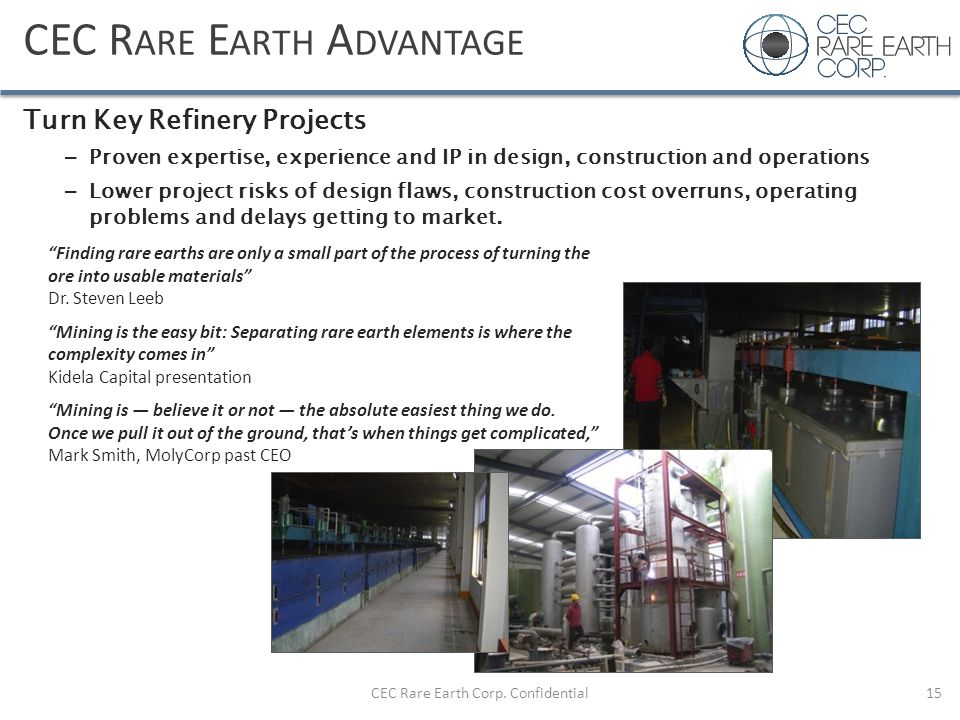 CEC Rare Earth Advantage