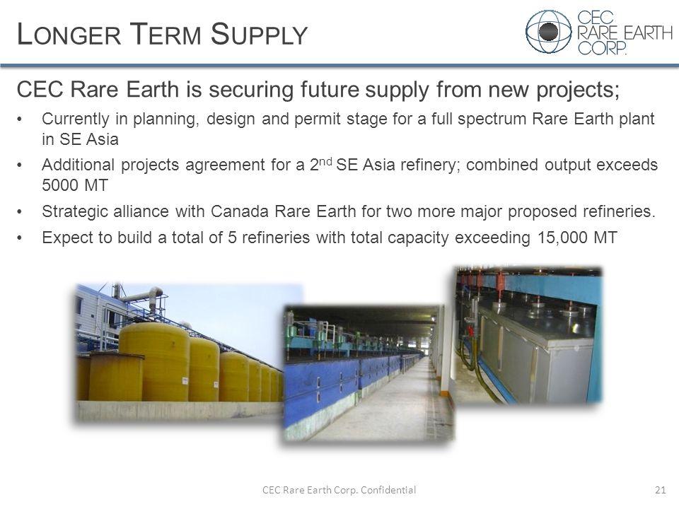 CEC Rare Earth Corp. Confidential
