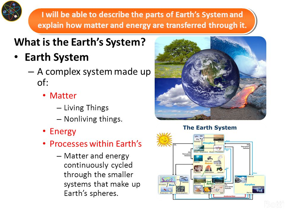 What is the Earth's System