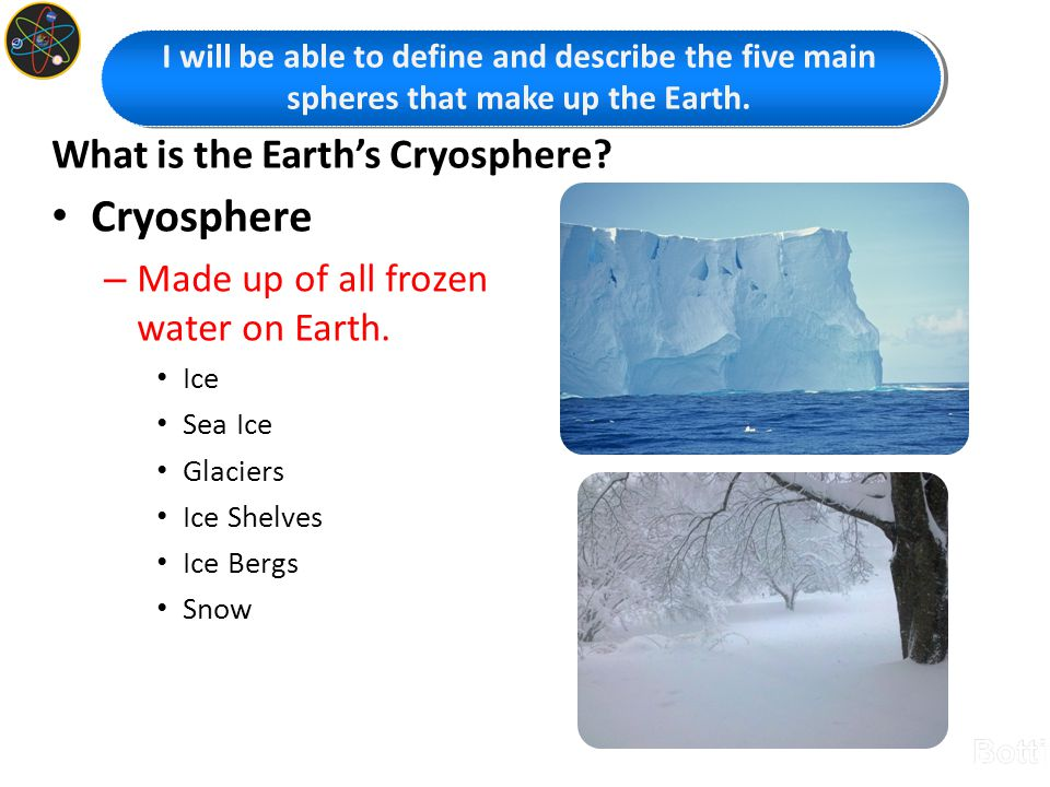 What is the Earth's Cryosphere