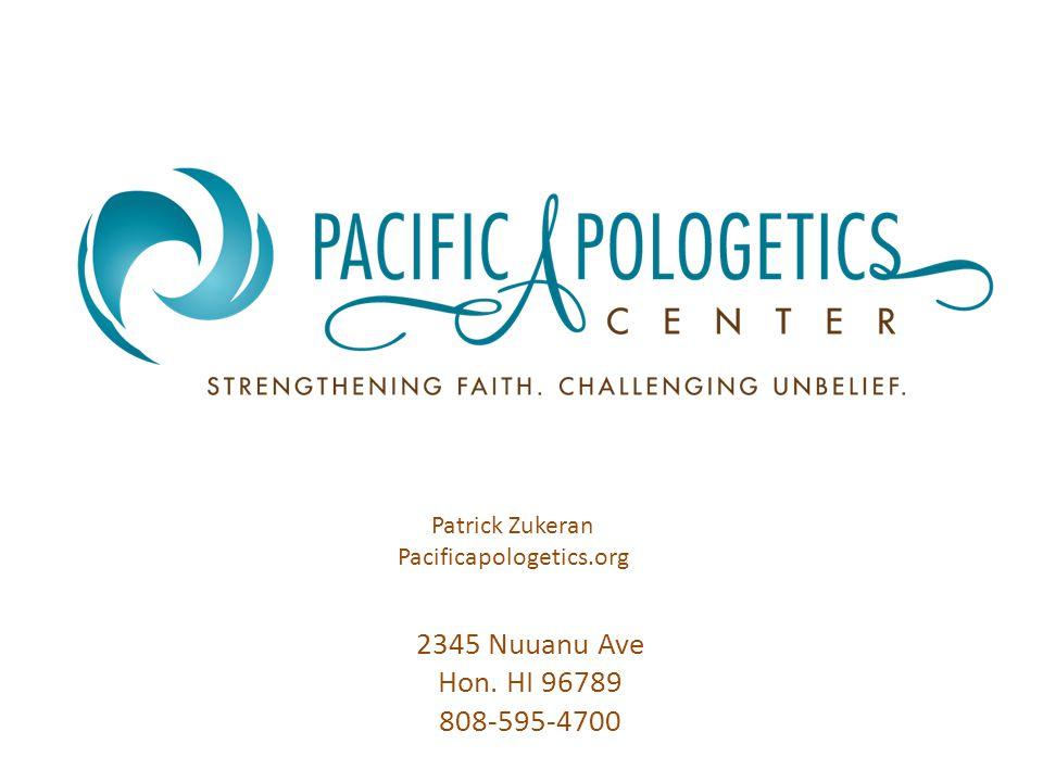 2345 Nuuanu Ave Hon. HI 96789 808-595-4700 Patrick Zukeran