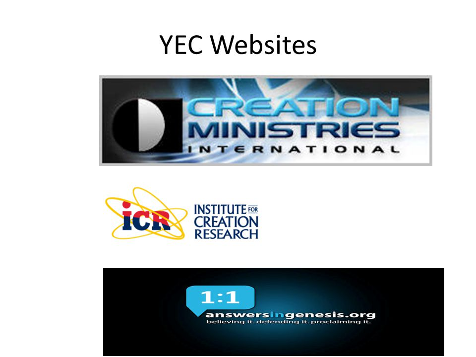 YEC Websites