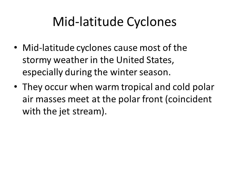 Mid-latitude Cyclones