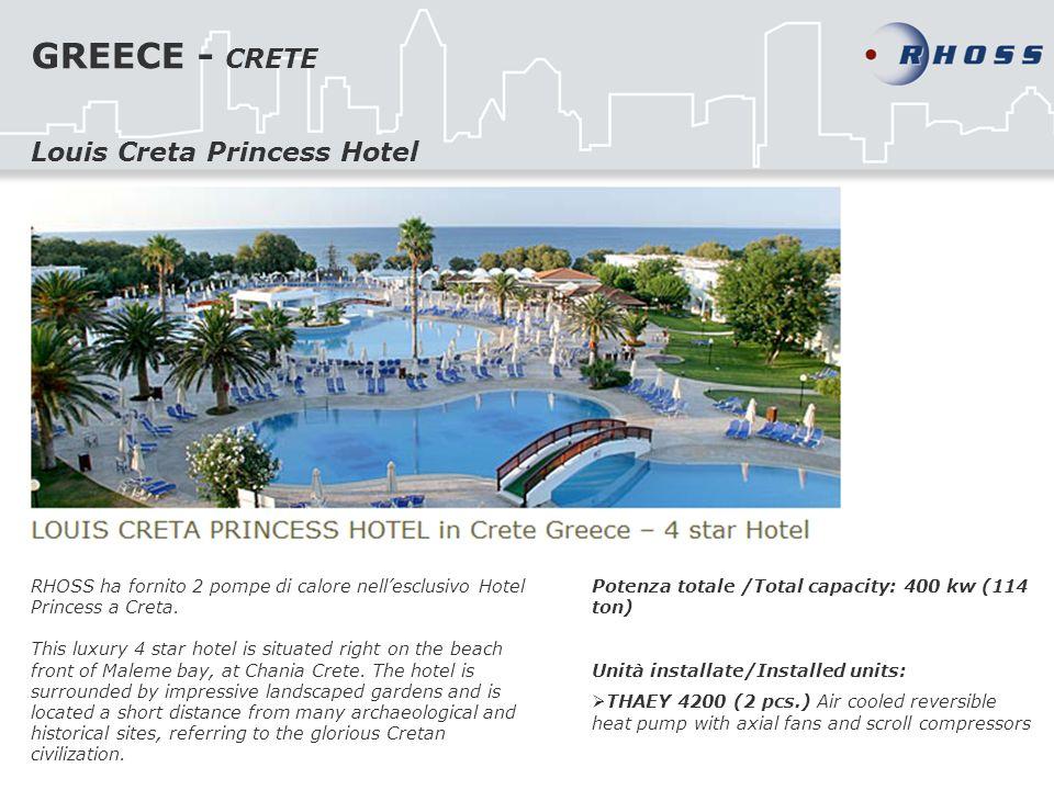 GREECE - CRETE Louis Creta Princess Hotel
