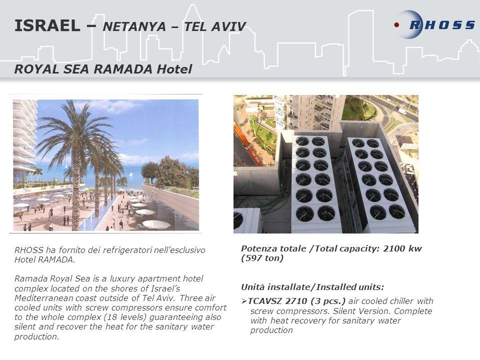 ISRAEL – NETANYA – TEL AVIV