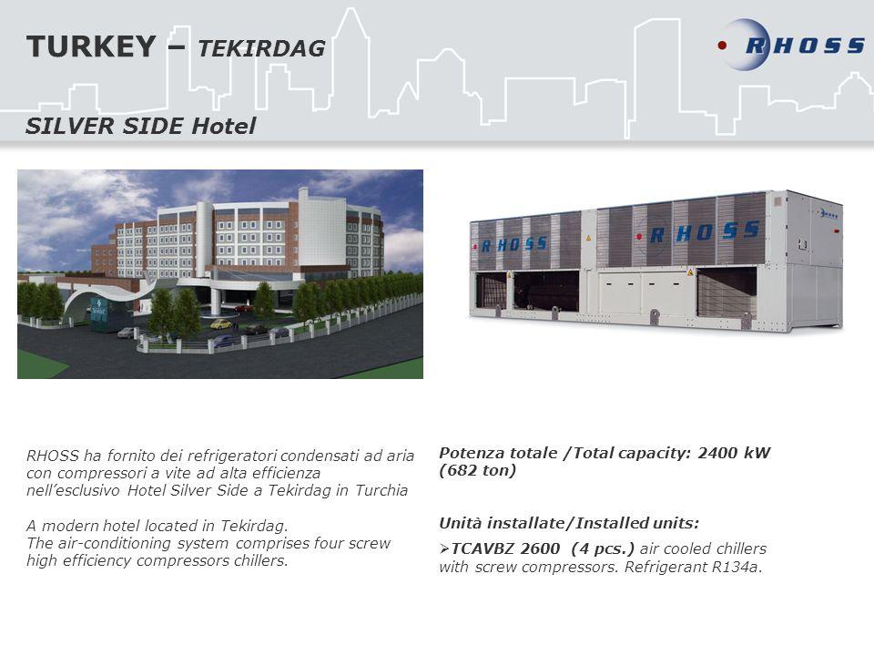 TURKEY – TEKIRDAG SILVER SIDE Hotel