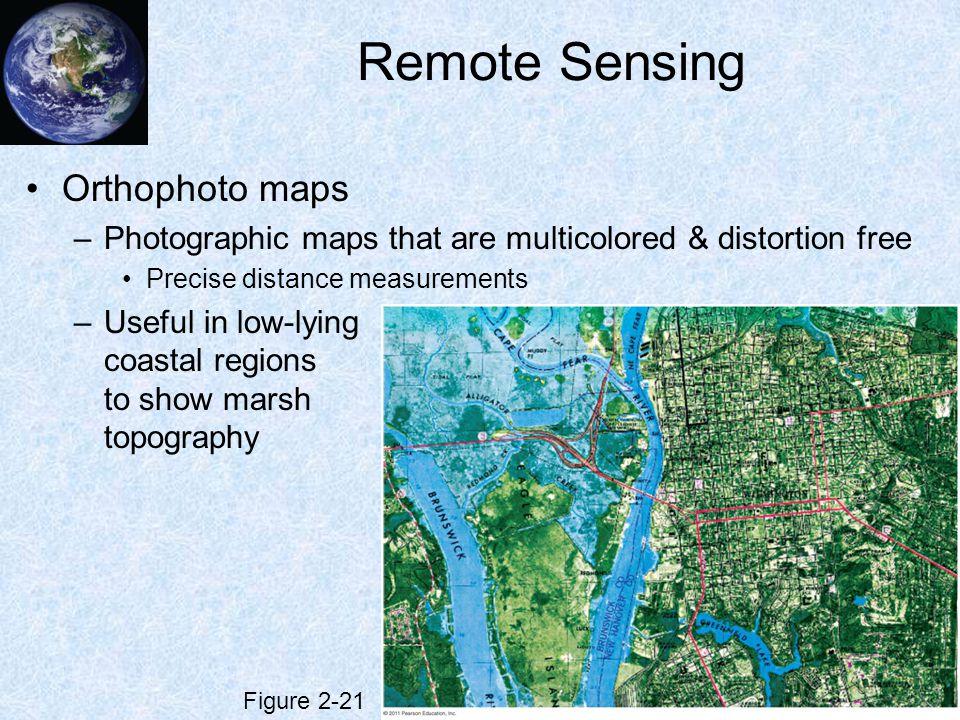 Remote Sensing Orthophoto maps