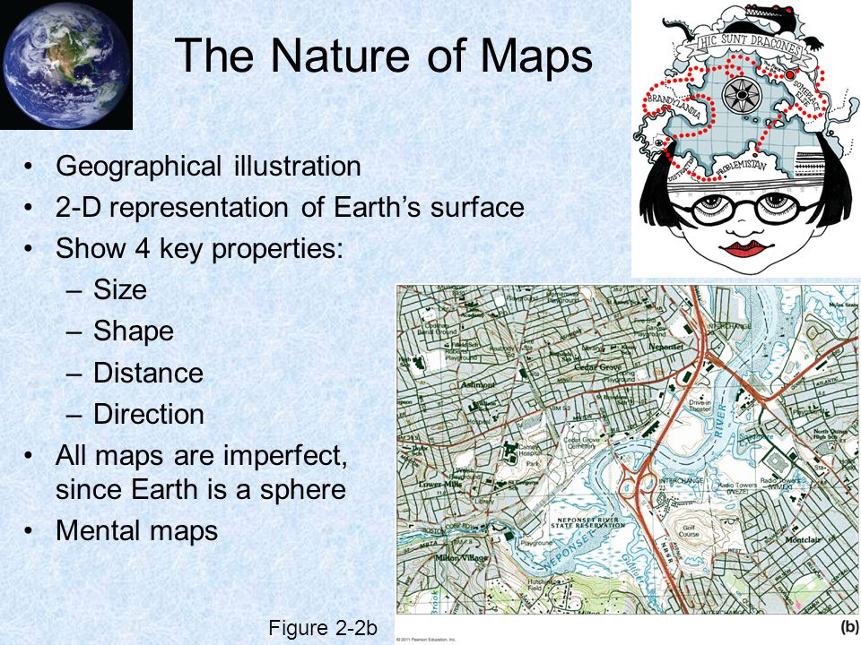The Nature of Maps Geographical illustration