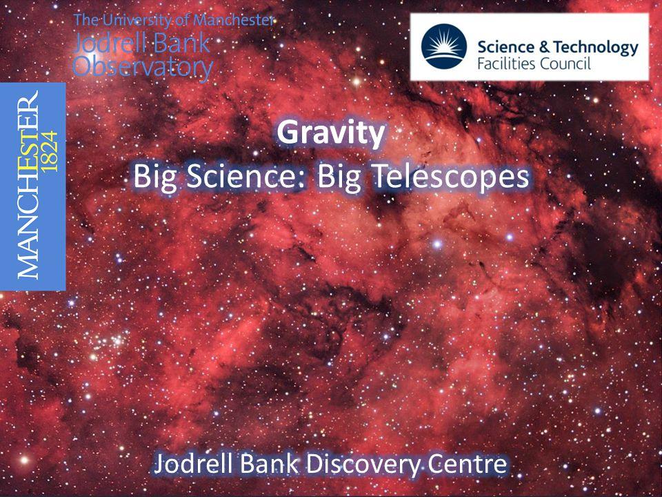 Gravity Big Science: Big Telescopes