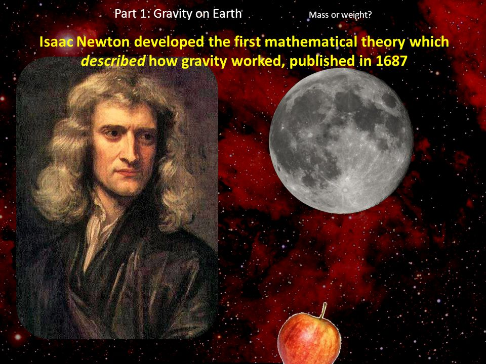 Part 1: Gravity on Earth Mass or weight