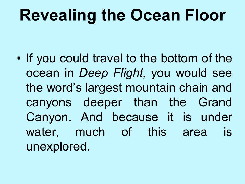Revealing the Ocean Floor