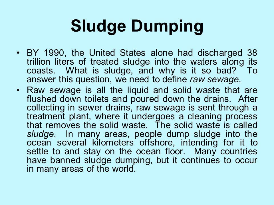 Sludge Dumping