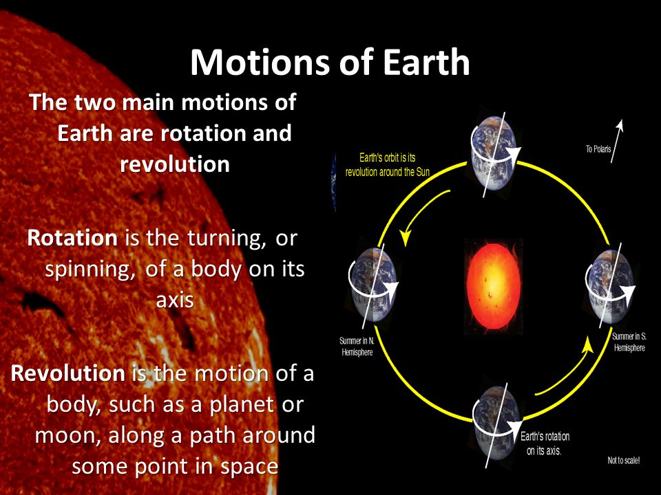 Motions of Earth