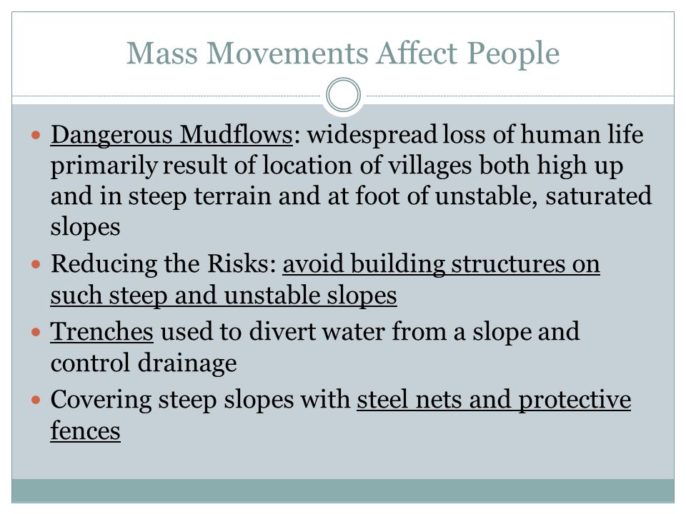 Mass Movements Affect People