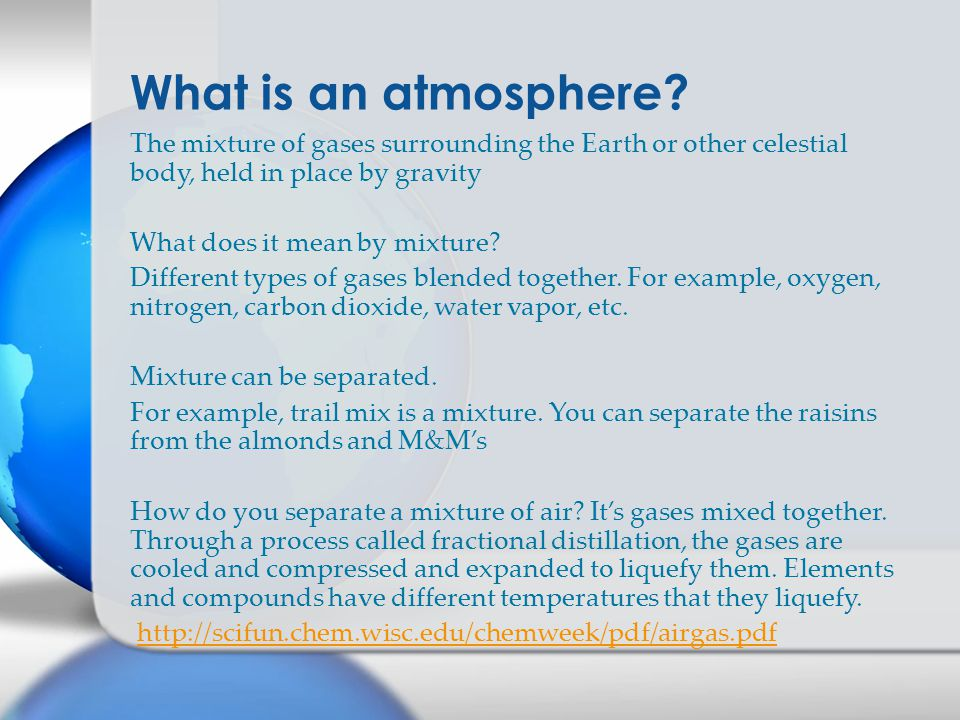 What is an atmosphere