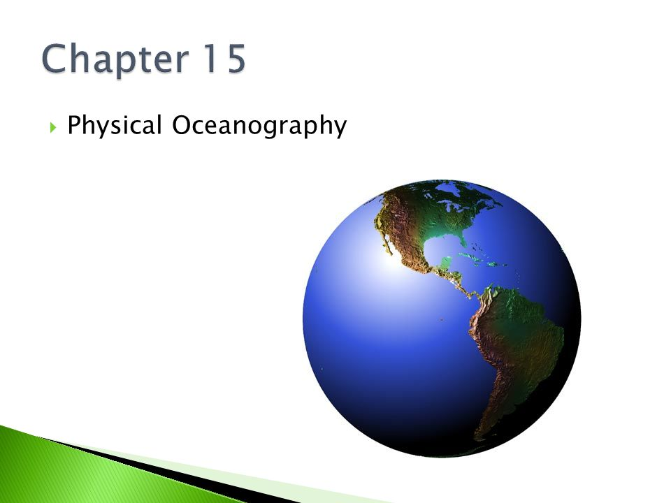 Chapter 15 Physical Oceanography
