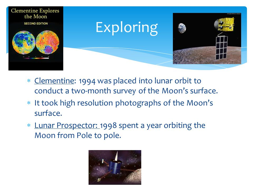 Exploring Clementine: 1994 was placed into lunar orbit to conduct a two-month survey of the Moon's surface.