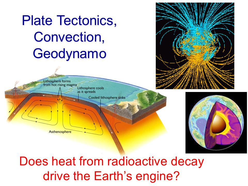 Does heat from radioactive decay drive the Earth's engine