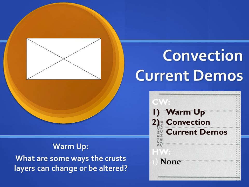Convection Current Demos