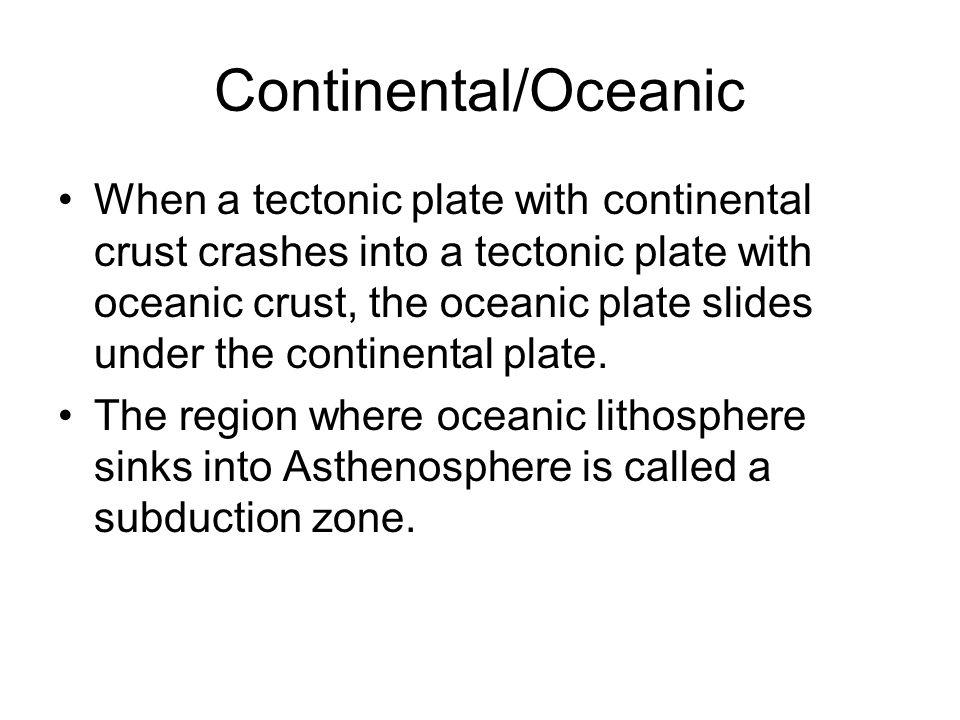 Continental/Oceanic
