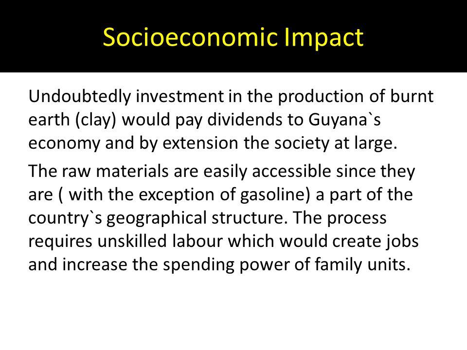 Socioeconomic Impact