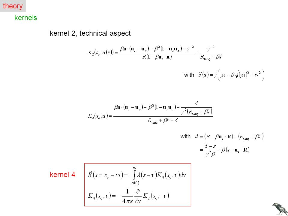 kernel 2, technical aspect