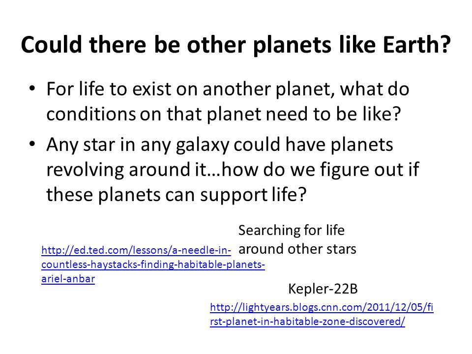 Could there be other planets like Earth