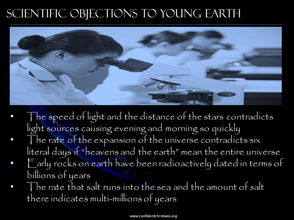 Scientific objections to young earth
