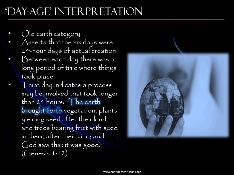 'Day-Age' Interpretation