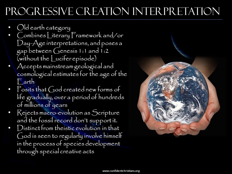 Progressive Creation Interpretation