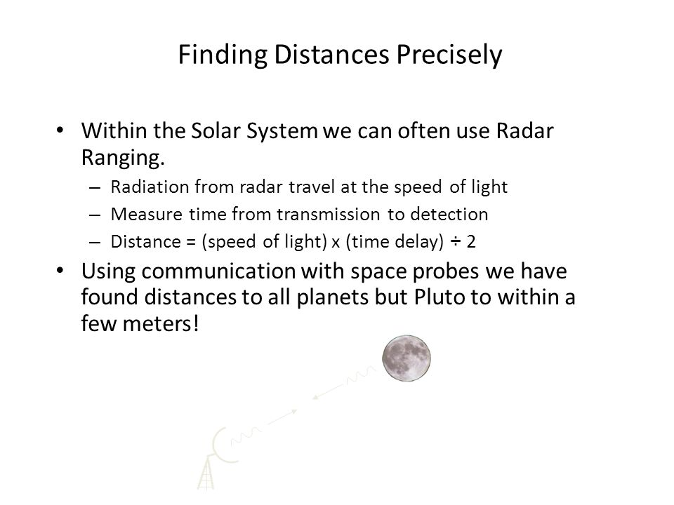 Finding Distances Precisely