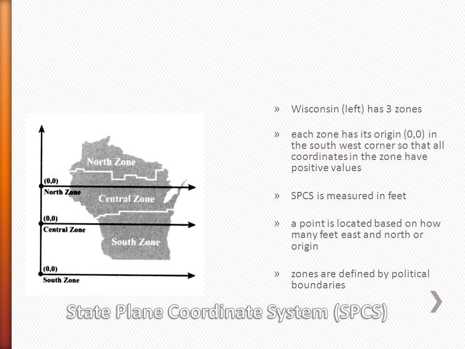 State Plane Coordinate System (SPCS)